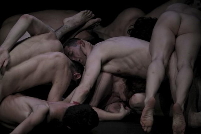 Tragédie d'Olivier Dubois... (Photo: François Stemmer, fournie par Danse Danse)