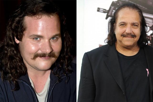 Antoine Bertrand (dans la peau de Louis Cyr) et l'ex-acteur porno Ron Jeremy ne...