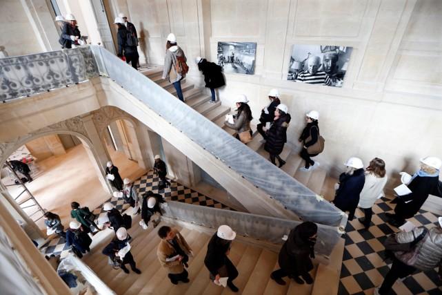 Photo prise en mars dernier dans le musée... (Photo archives Reuters)