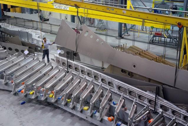 L'industrie aérospatiale québécoise s'est entièrement remise de la crise... (Photo fournie par AÉRO MONTRÉAL, Archives)