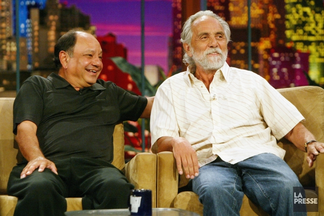 Comedians Richard «Cheech» Marin et Tommy Chong lors... (Photo: archives La Presse)