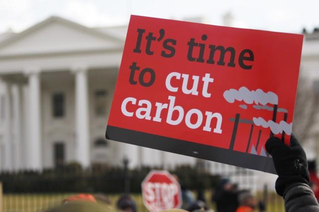 La lutte contre le réchauffement climatique figurait parmi... (Photo RICHARD CLEMENT, Reuters)