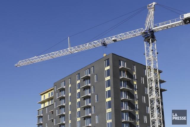 La Société canadienne d'hypothèques et de logement (SCHL) s'attend à ce que les... (PHOTOTHÈQUE LA PRESSE)