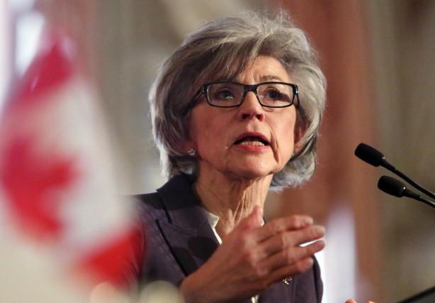 La juge en chef de la cour suprême... (Photo Fred Chartrand, La Presse Canadienne)