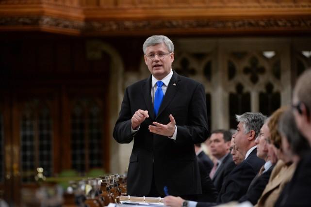 L'attaque du premier ministre contre la juge en... (Photo Sean Kilpatrick, La Presse Canadienne)