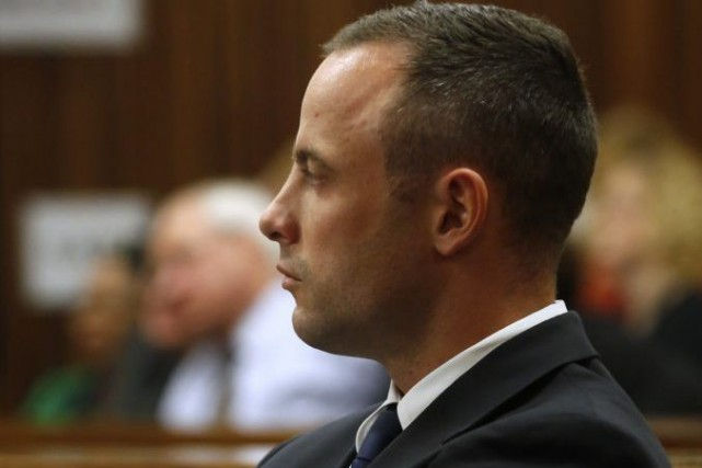 Oscar Pistorius... (Photo Mike Hutchings, Reuters)