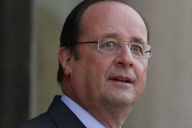 François Hollande... (Photo Gonzalo Fuentes, Reuters)