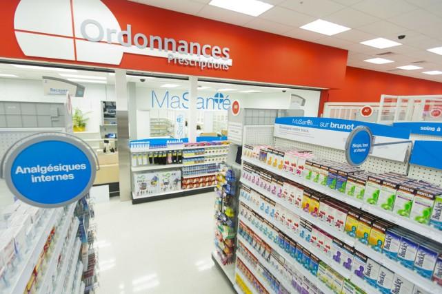 Les premières pharmaciesBrunetont fait leur apparition chezTarget.... (PHOTO FOURNIE PAR TARGET)