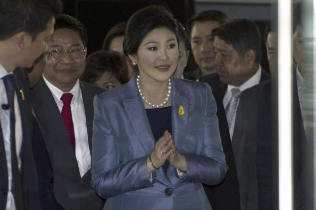 Yingluck Shinawatra... (Photo Pornchai Kittiwongsakul, Agence France-Presse)