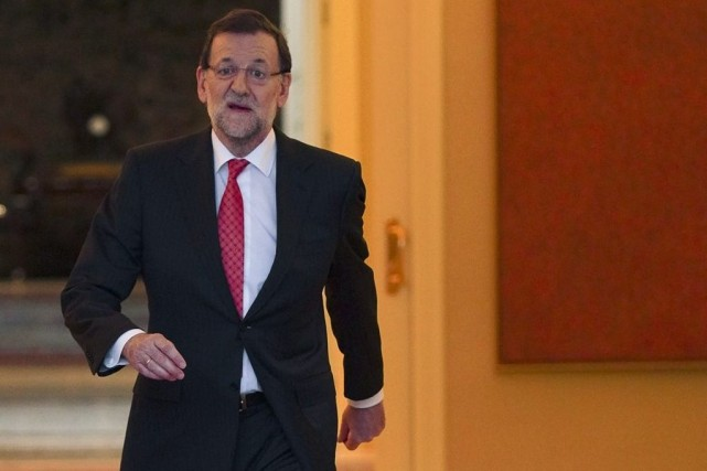 Mariano Rajoy... (Photo Sergio Perez, Reuters)
