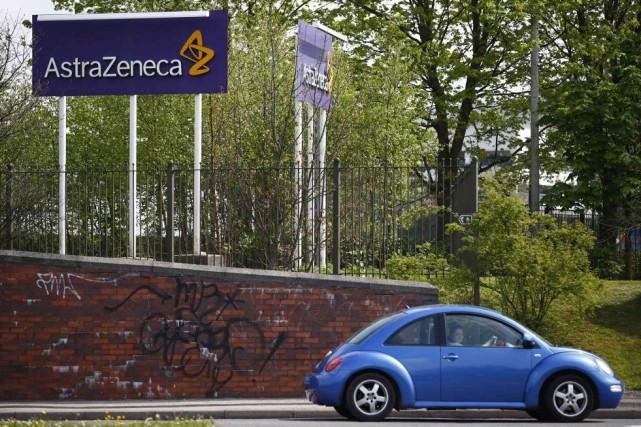 AstraZeneca reconnaît que ses revenus de 2017 seront... (PHOTO DARREN STAPLES, ARCHIVES REUTERS)