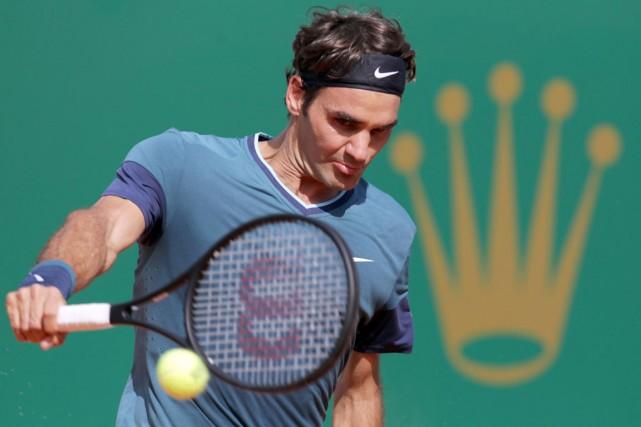 Roger Federer... (Photo Jean-Christophe Magnenet, AFP)