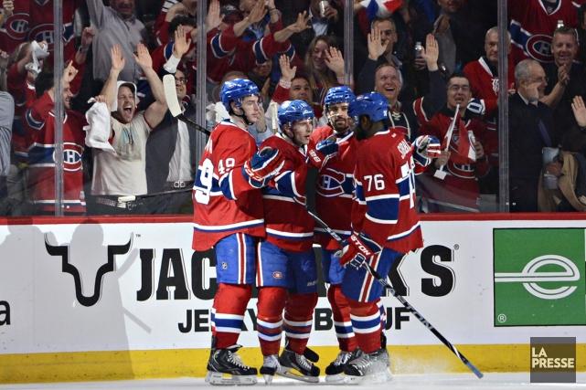 Quand le Canadien a annoncé que Loco Locass avait accepté de rafraîchir Le but... (Photo: Bernard Brault, La Presse)