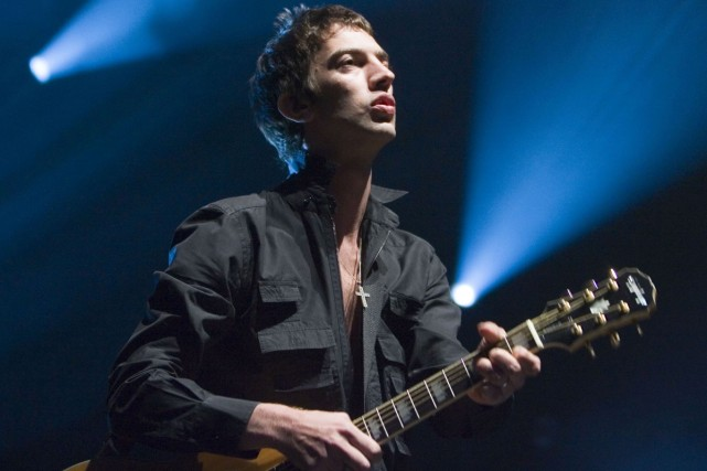 Richard Ashcroft, chanteur du groupe The Verve, fait... (Photo: La Presse Canadienne)