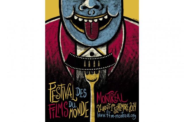 La direction du Festival des films du monde (FFM) a annoncé hier qu'une affiche... (Photo: fournie par le FFM)