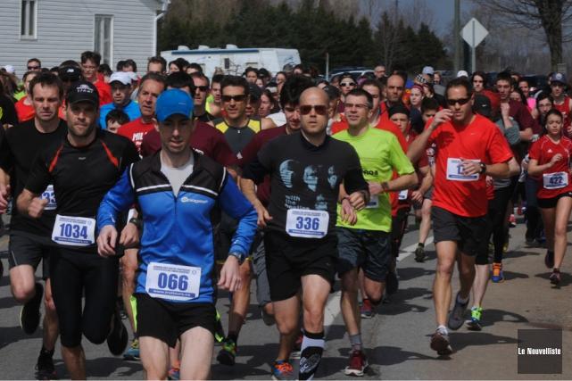Les adeptes de la course à pied se... (Photo: François Gervais, Le Nouvelliste)