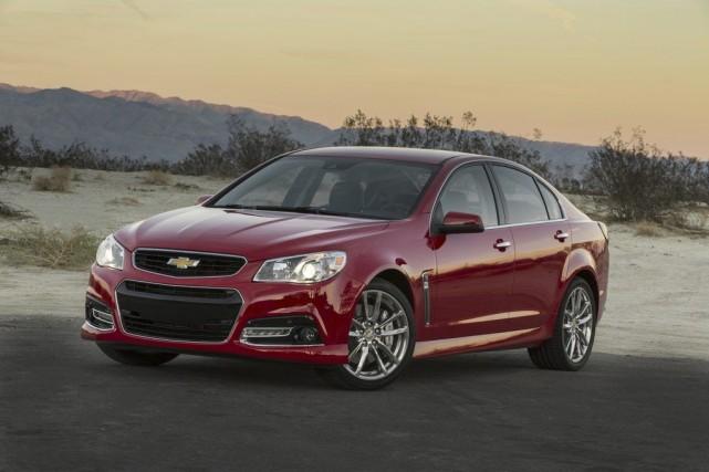 La Chevrolet SS 2014... (Photo fournie par General Motors)