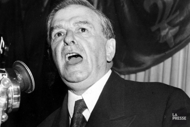 L'ancien premier ministre Maurice Duplessis.... (Photo Archives La Presse)