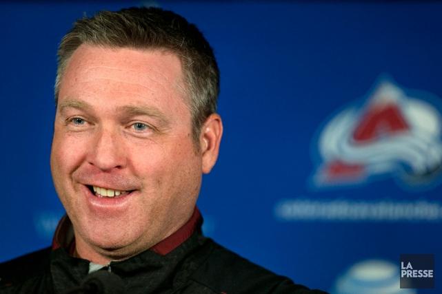 L'entraîneur de l'Avalanche du Colorado, Patrick Roy.... (Photo Robert Skinner, La Presse)