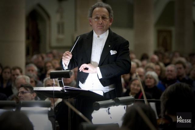 Boris Brott dirigera l'Orchestre de chambre McGill dans... (Photo: André Pichette, La Presse)