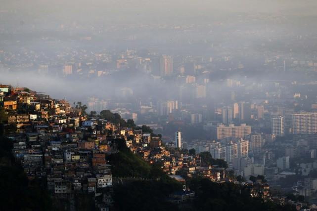 Une vue de Rio de Janeiro, une des... (Photo Sergio Moraes, Reuters)