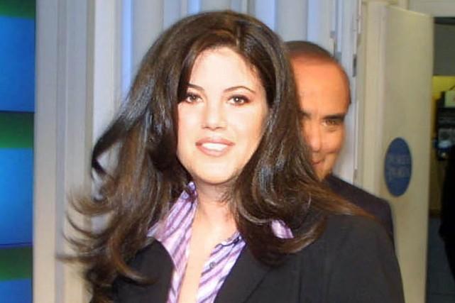 Monica Lewinsky... (Photo Archives AP)