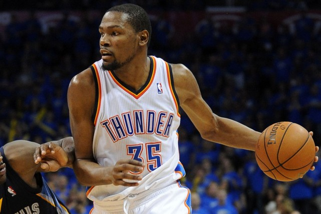 Kevin Durant a été un exemple de régularité... (Photo Mark D. Smith, USA Today)