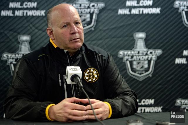 L'entraîneur des Bruins de Boston, Claude Julien.... (Photo Bernard Brault, La Presse)