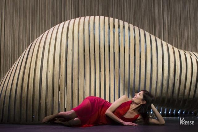 Anne-Marie Cadieux se glisse dans la peau de... (Photo: Ninon Pednault, La Presse)