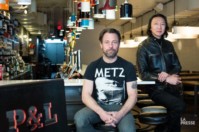 Brian Richer et Kei Ng de Castor Design.... (PHOTO ÉDOUARD PLANTE-FRÉCHETTE, LA PRESSE)