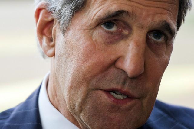 Le secrétaire d'État américain John Kerry.... (Photo Saul LOEB, AFP)
