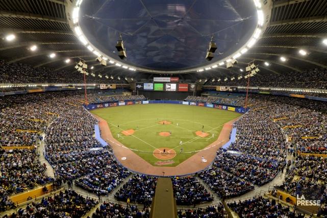 Le Stade olympique a accueilli deux matchs préparatoires... (Photo Bernard Brault, La Presse)