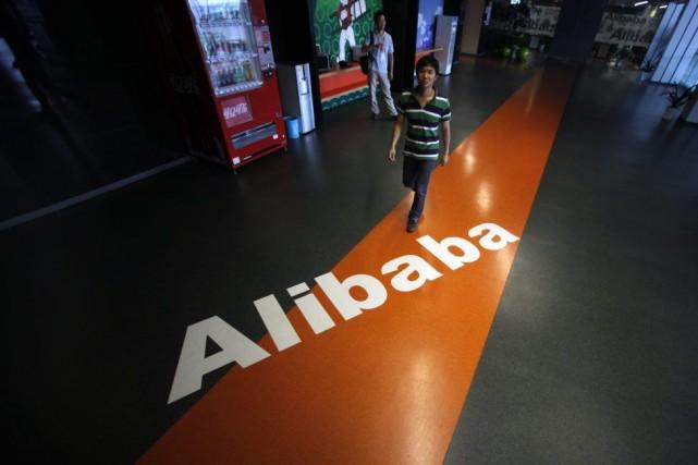 Alibaba ne précise toujours pas combien d'actions il... (Photo Carlos Barria, Reuters)