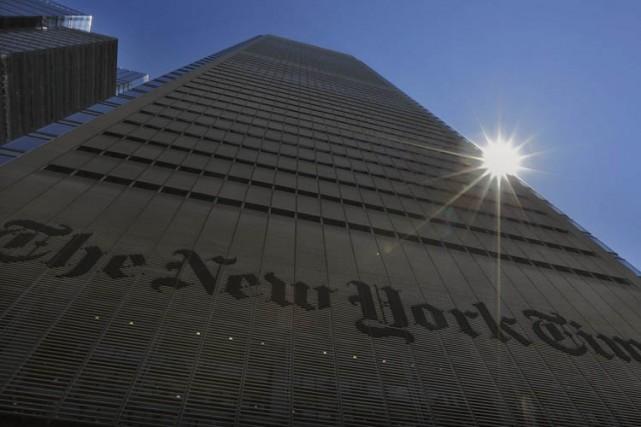 Seize organes de presse, dont le New York Times, ont présenté mardi... (Photo: Reuters)