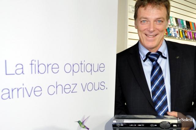 Le vice-président, Marché consommateurs chez TELUS, Clément Audet... (Photothèque Le Soleil)