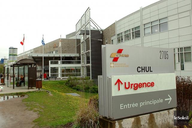 Le CHUL de Québec... (Photothèque Le Soleil)