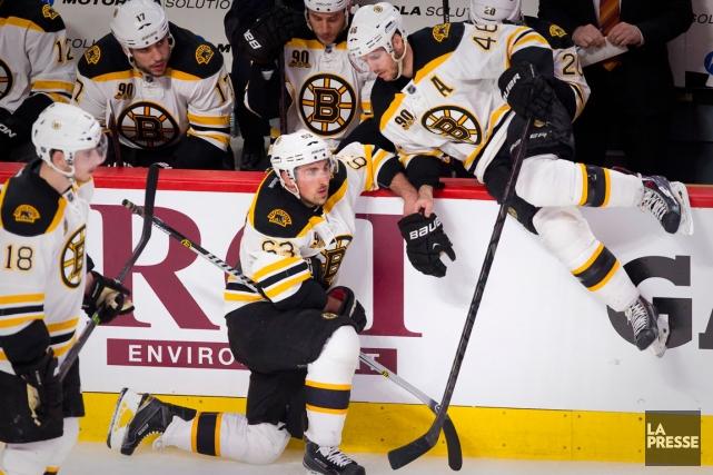 Les joueurs des Bruins entendent mieux entreprendre le... (Photo André Pichette, La Presse)
