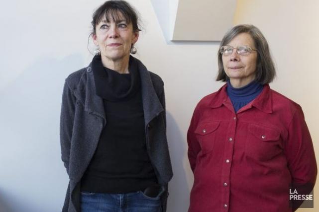 Yseult et Sylvie Riopelle, les deux filles de... (Photo: Édouard Plante-Fréchette, La Presse)
