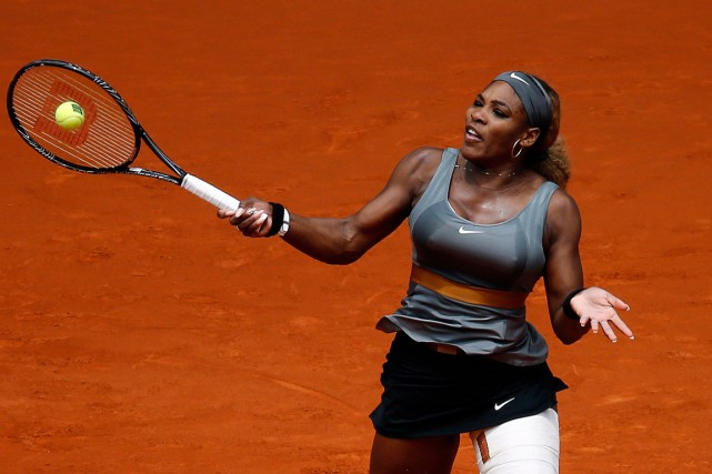 Serena Williams... (Photo Sergio Perez, Reuters)
