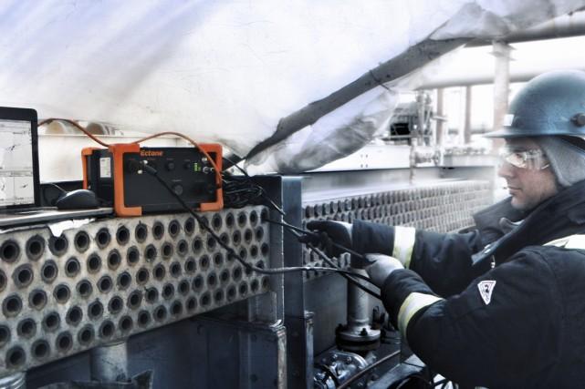 L'instrument d'inspection Ectane a été conçu parEddyfi. Les... (Photo fournie par Eddyfi)