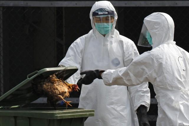 La Chine est fortement touchée par la grippe... (Photo archives AFP)