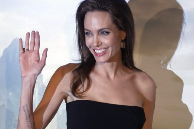 Angelina Jolie est en France afin de faire... (Photo: Reuters)