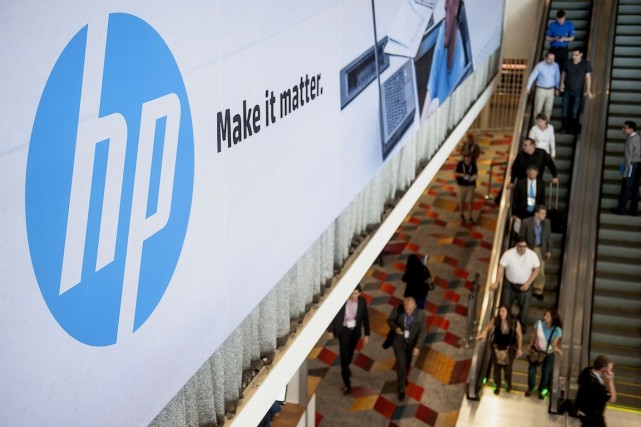 HP rejoint dans la course au «cloud» d'autres... (Photo Jacob Kepler, Archives Bloomberg)