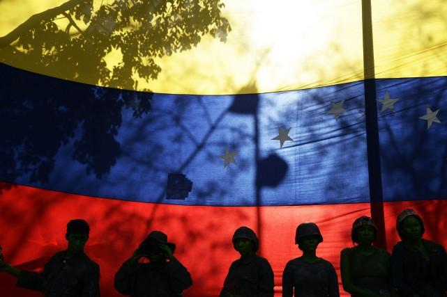 On dénombre au Venezuela 299 centres hospitaliers publics,... (Photo JUAN BARRETO, AFP)