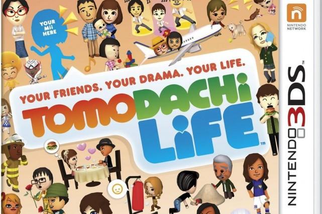Tomodachi Lifemet en scène des personnages vivant et... (Photo AP / Nintendo)