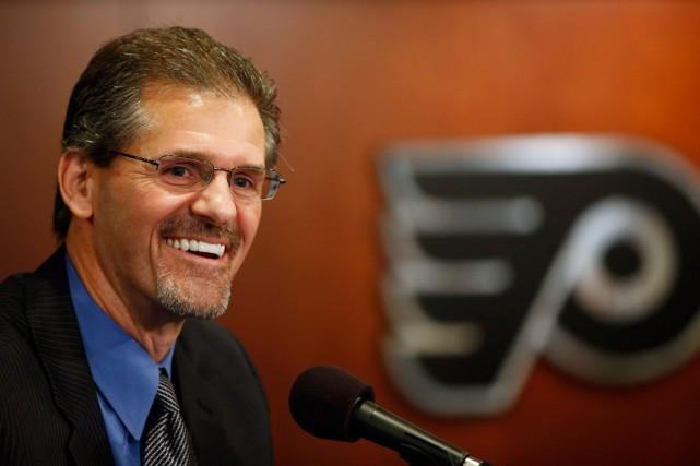 Le nouveau directeur général des Flyers de Philadelphie,... (Photo Matt Slocum, archives AP)