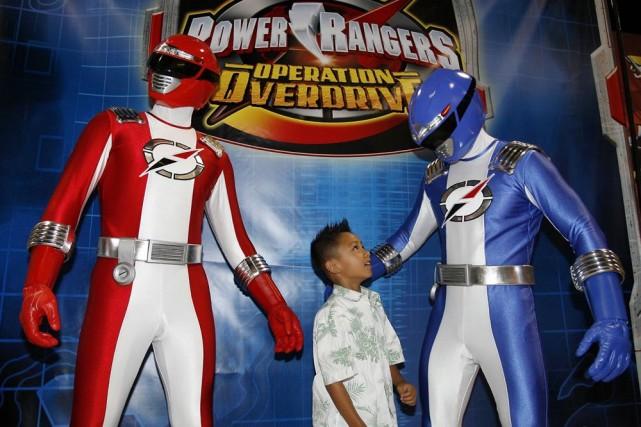 Plus de 20 ans après la série télévisée pour enfants, les héros colorés et... (Photo: archives AP)