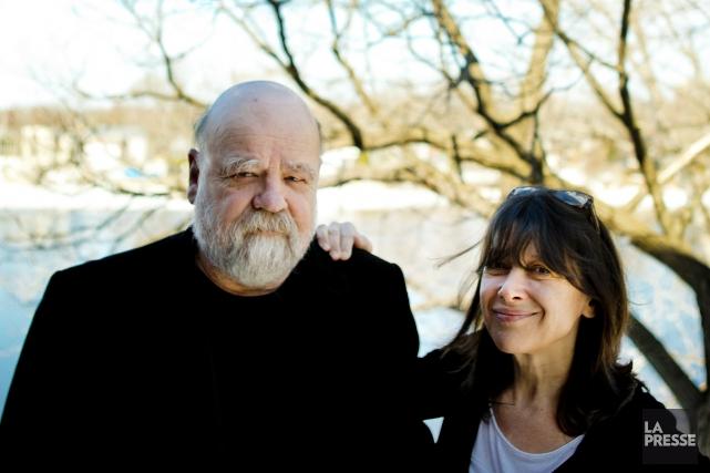 Serge Bouchard et Marie-Christine Lévesque retracent la vie... (Photo: Marco Campanozzi, La Presse)