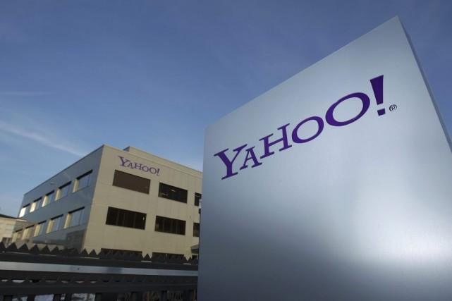 L'action de Yahoo! a clôturé mercredien forte baisse... (PHOTO DENIS BALIBOUSE, ARCHIVES REUTERS)