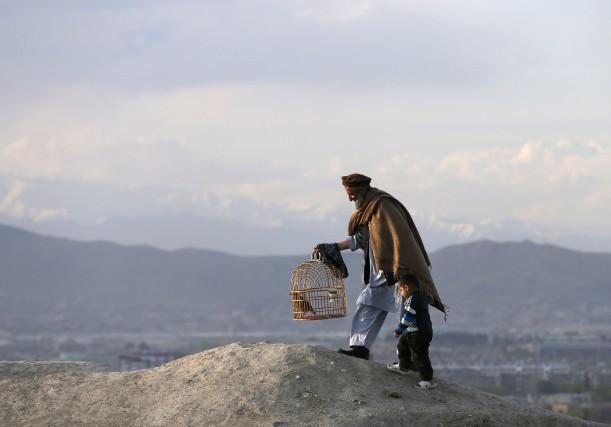 Malgré la pauvreté et la violence, des millions... (Photo Mohammad Ismail, Reuters)